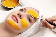 ماسک زردچوبه برای داشتن پوستی درخشان